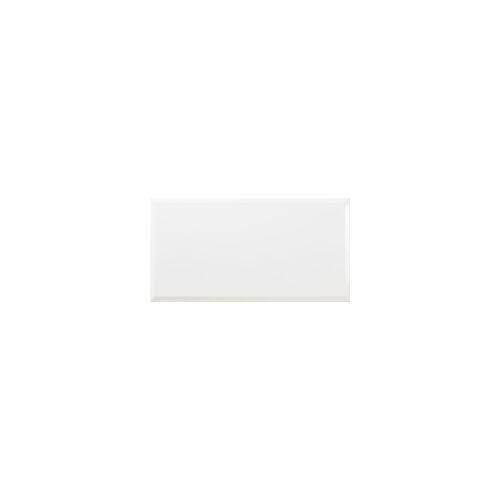 Euro Stone Wandfliese Metro Facette 31,6 x 60 cm, Stärke 7 mm, Abr. 2, weiß, glasiert glänzend
