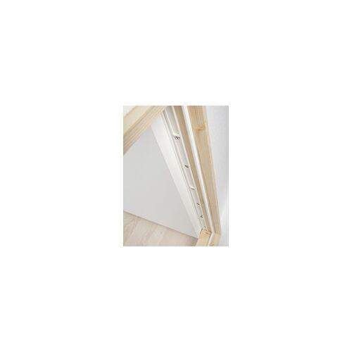 Dolle Kniestocktür Massivholzrahmen, weiß, 78 x 54 x 11,5 cm