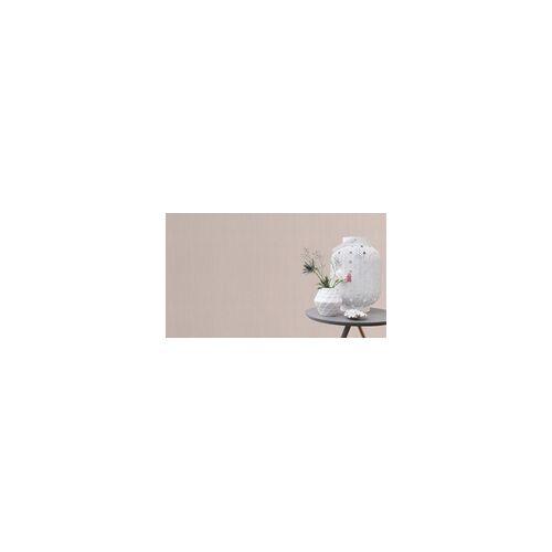 Rasch Vliestapete Hyde Park uni rosa, 10,05 x 0,53 m
