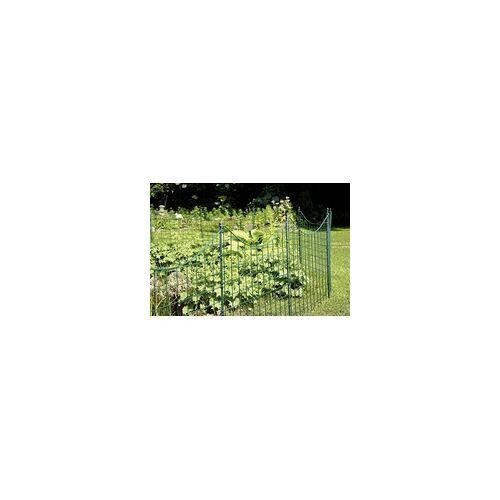 GAH ALBERTS GAH-Alberts Teich-Zaunfeld Bogen mittig unten, 77,7 x 66,5 cm, grün