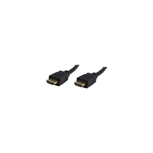 Schwaiger HDMI Anschlusskabel HDM15 533 schwarz, 1,5m, 2x HDMI