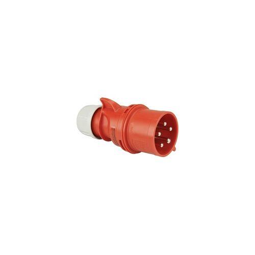 weitere PCE CEE-Stecker 5-polig 32A Phasenwender rot