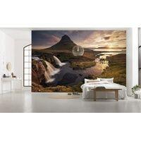 Komar Vlies Fototapete Guten Morgen auf Isländisch 400 x 250 cm