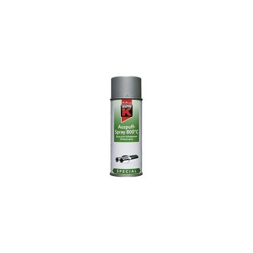 Auto-K Auspuff-Spray 800 C Spezial silber 400 ml