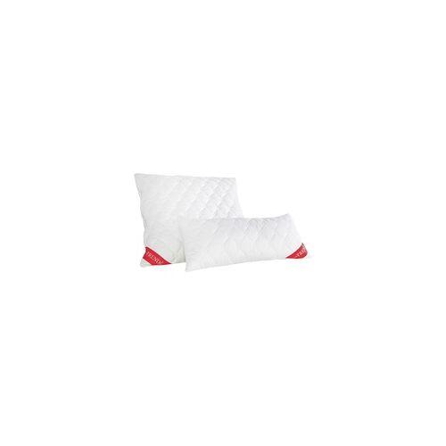 Badenia Trendline Kopfkissen Micro weiß, 40 x 80 cm