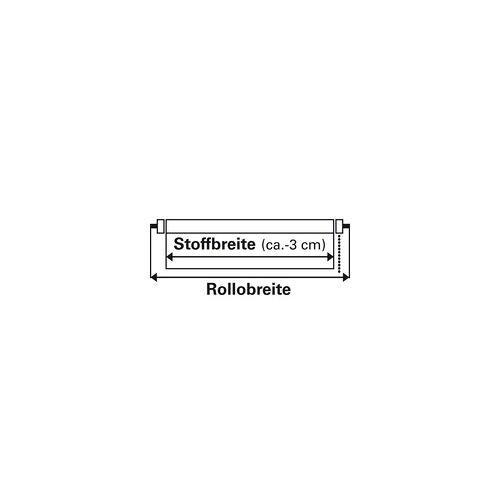 Gardinia Easyfix Rollo Uni weiß, 75 x 150 cm