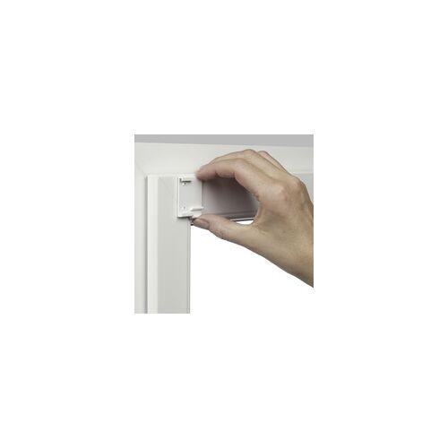 Gardinia Easyfix Rollo Uni weiß, 100 x 150 cm