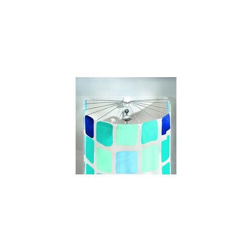 Kleine Wolke Duschvorhang-Kabine Big Spider, weiß, 94 x 71 cm