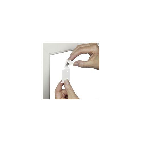 Gardinia EasyFix Doppelrollo weiß, 90 x 220 cm