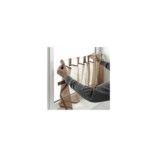 Gardinia Klemmstange weiss, 90 - 120 cm, 2 Stück