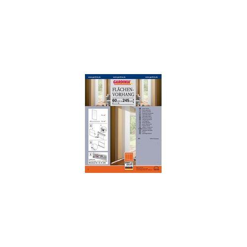 Gardinia Flächenvorhang Uni weiß, 60 x 245 cm