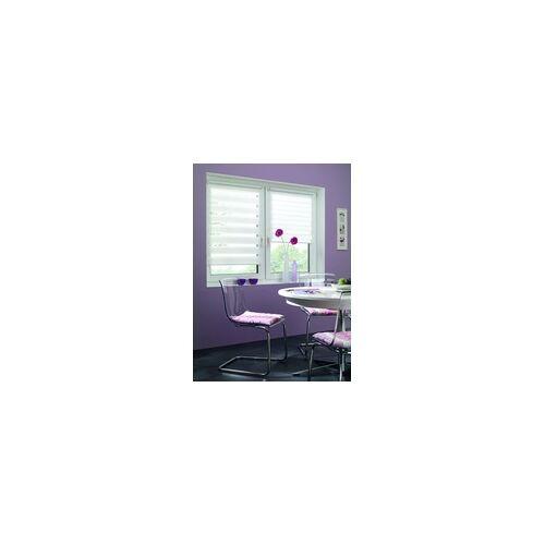Gardinia EasyFix Doppelrollo weiß, 120 x 150 cm