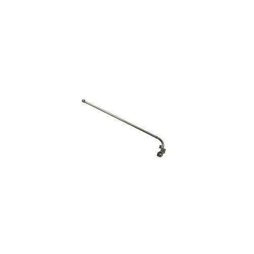 Gardinia Schwenkstange Ø 12 mm, edelstahl-optik, ausziehbar 55 - 85 cm