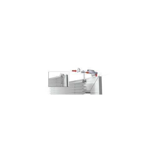 Gardinia EasyFix Plissee weiß, 90 x 130 cm