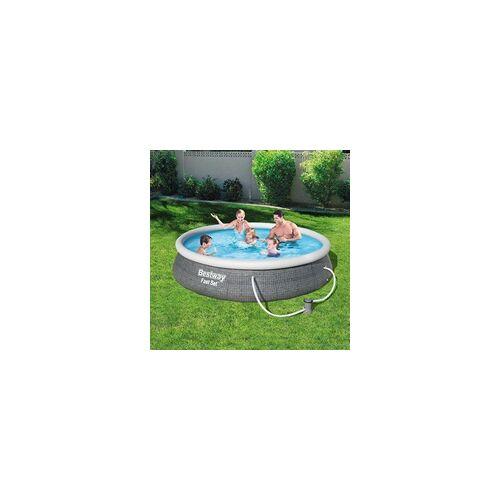 Bestway Fast-Pool-Set Ø 396 x 84 cm, inkl. Filterpumpe