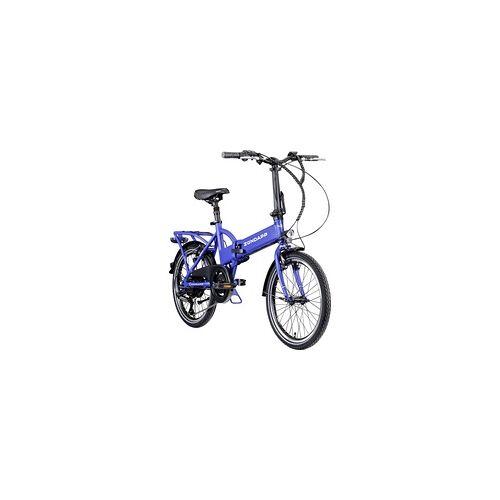 Zündapp Zündapp E-Bike Faltrad Z101 20 Zoll blau 6-Gang 270 Wh RH37
