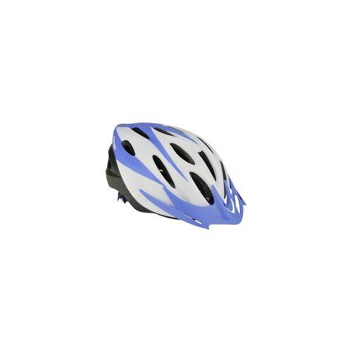 Fischer Fahrradhelm Sportiv Größe S/M 54-59 cm, weiß blau