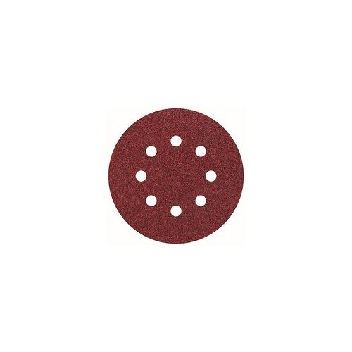 Wolfcraft Haftschleifscheiben, K80 Ø 125 mm, für Exzenterschleifer