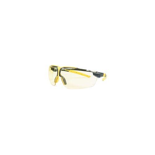 Uvex Schutzbrille i-3 Kontrastverbesserung durch gelbe Scheiben
