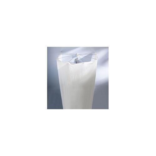 Kleine Wolke Duschvorhang-Kabine Spider weiß, 200 x 170 cm