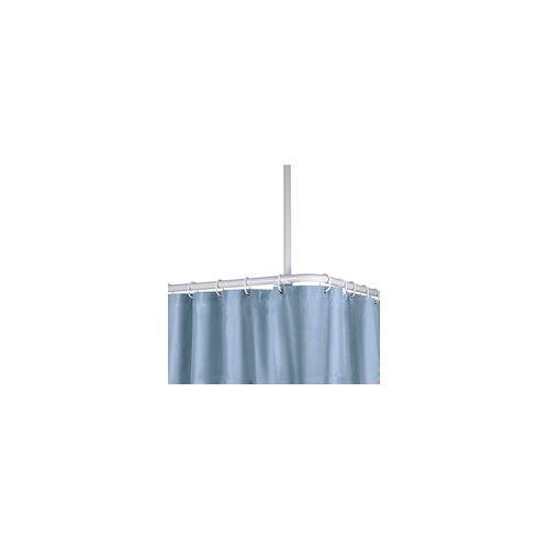 Kleine Wolke Deckenhalter für Duschstangen weiß