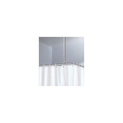 Kleine Wolke Deckenhalter für Duschstangen chrom