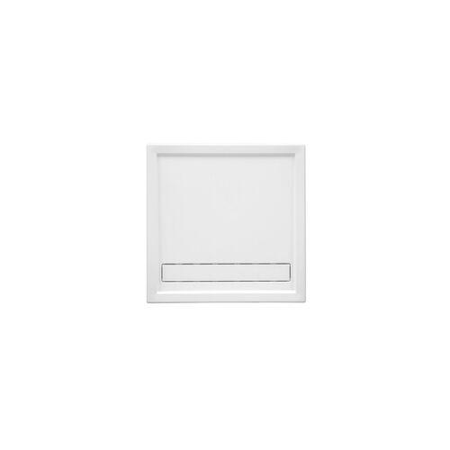 Ottofond Duschwanne Fashion Board 100 x 100 x 3 cm, weiß