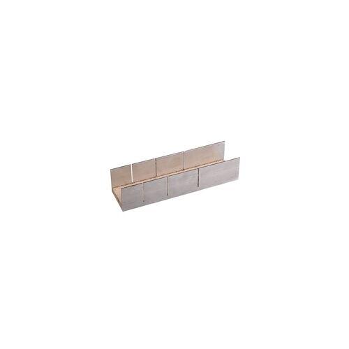 CONNEX Gehrungsschneidlade Aluminium 250 x 60 x 37 mm