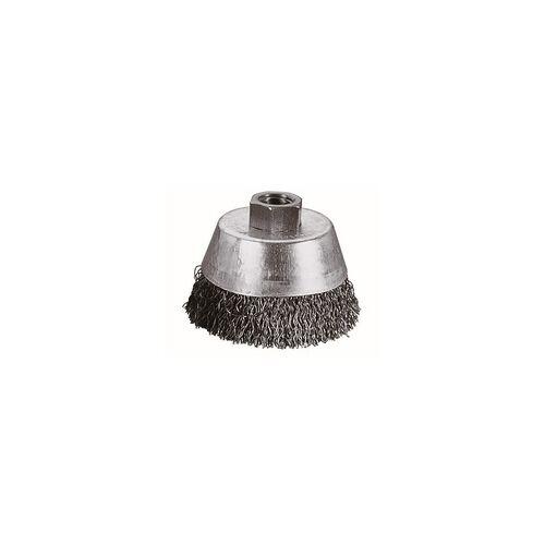 Wolfcraft Topfdrahtbürste Ø 65 mm, gewellt, M14, für Winkelschleifer