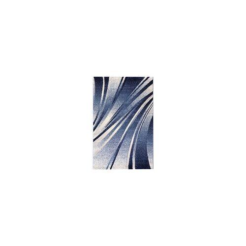 mynes Teppich Trend blau, 80 x 150 cm