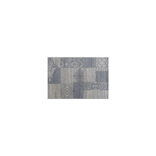 mynes Teppich Trend grau, 80 x 150 cm
