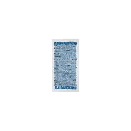 Andiamo Fleckerlteppich Frida blau, 60 x 120 cm