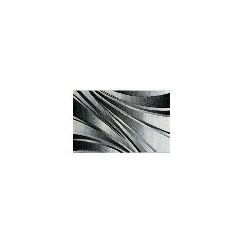 mynes Teppich Trend schwarz, 120 x 170 cm