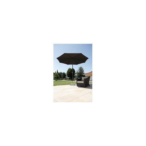 Schneider Schirme Schneider Sonnenschirm Korsika braun, Ø 320 cm