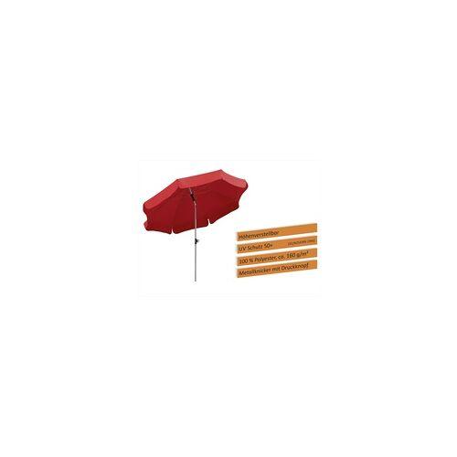 Schneider Schirme Schneider Sonnenschirm Locarno rot, Ø 200 cm