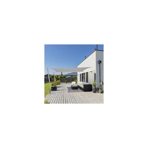 Windhager Sonnensegel Capri 4 x 5 m, grau