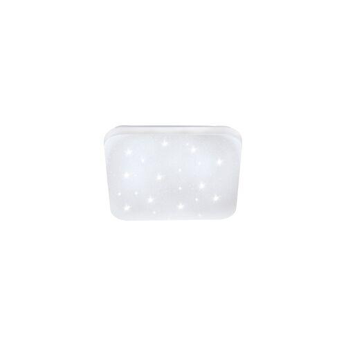 Eglo Led Wand- Deckenleuchte Frania-S weiß, kristall
