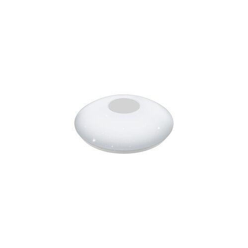 Eglo Led Wand- Deckenleuchten Voltago 2 weiß, Kunststoff mit Kristalleffekt