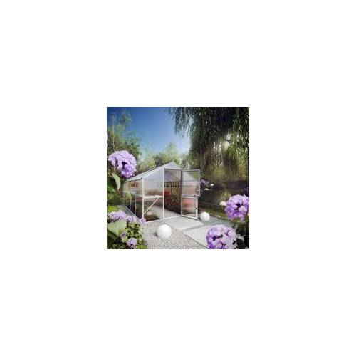 KGT Kreative Garten Technik KGT Alu-Gewächshaus Rose IV 233 x 429 cm