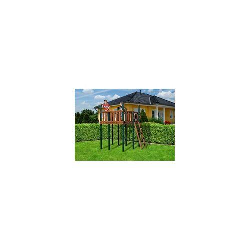 Weka Spielturm 816 D Tabaluga 167 x 160 x 250 cm, 66 x 66 mm