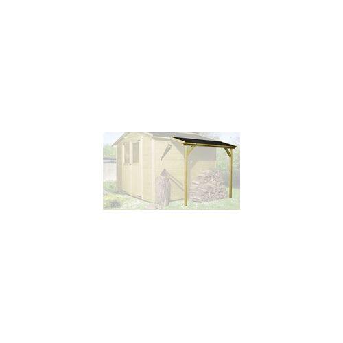 Weka Schleppdach für 19 und 21 mm Maße: 48 x 203 cm, lasiert