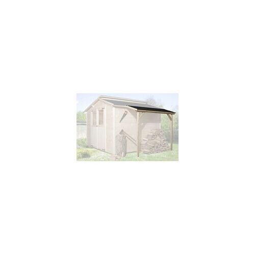 Weka Schleppdach für 19 und 21 mm Maße: 95 x 203 cm, natur