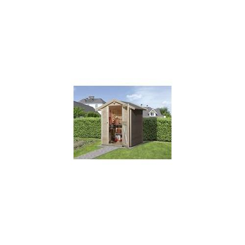 Weka Gartenhaus Agda Gr.2 natur, Wandstärke 19 mm, 152 x 148 cm