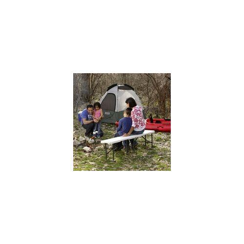 Lifetime Kunststoff Sitzbank weiß, 183 x 29 x 42 cm