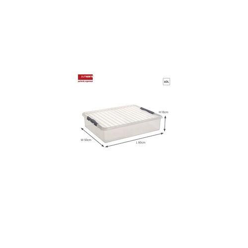 Sunware Bettbox Q-Line 60 l 80 x 50 x 18 cm (L x B x H)