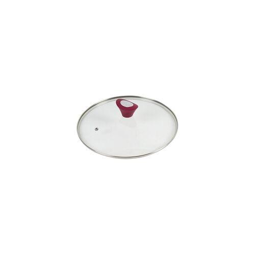 Broszio Pfannendeckel mit rotem Silikongriff Ø 28 cm