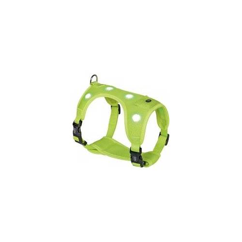 Nobby Geschirr FLASH MESH neon gelb, M: Brust: 40-50 cm, Bauch: 45-60 cm