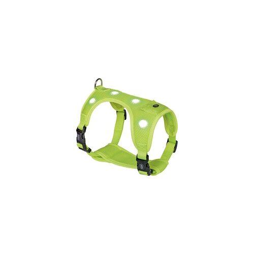 Nobby Geschirr FLASH MESH neon gelb, L: Brust: 55-70 cm, Bauch: 60-80 cm
