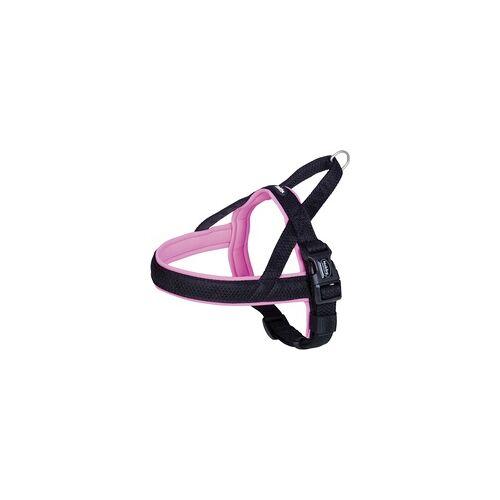 Nobby Norwegergeschirr Mesh Preno pink L: 60-76 cm + 46 cm, B: 25/35 mm