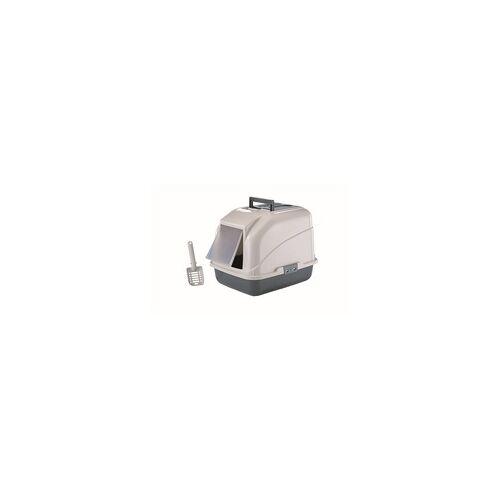 Nobby Katzentoilette mit Filter grau